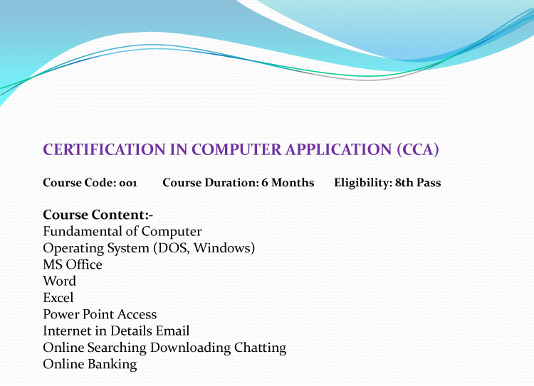 NCSM:: National Computer Saksharta Mission